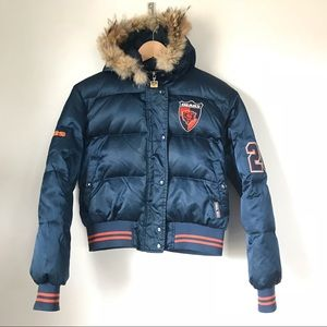 NFL Chicago Bears Down Bomber Jacket sz L